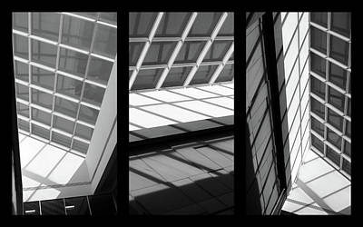 Photograph - Skylight Triptych  by Jessica Jenney