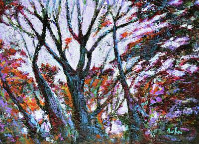 Painting - Skylight by Usha Shantharam