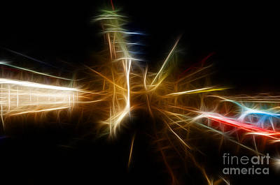 Photograph - Skyline Abstract by Vivian Christopher