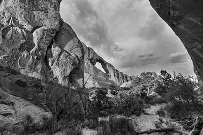 Photograph - Skyline Arch by Lou Novick