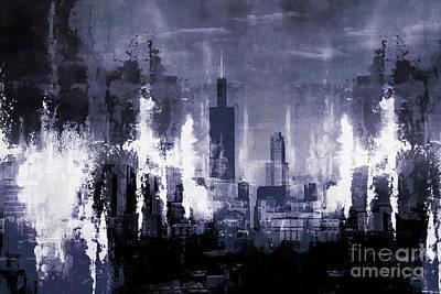 Skyline Chicago City Original