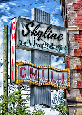 Skyline Chili #1 Art Print