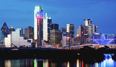Photograph - Skyline Dallas 50818 by Rospotte Photography