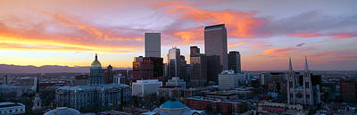 Rocky Mountain States Photograph - Skyline, Denver, Colorado by Panoramic Images