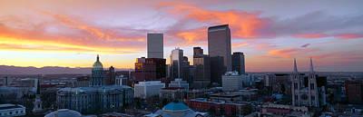 Skyline, Denver, Colorado Art Print