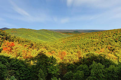 Photograph - Skyline Drive Overlook   -   Viewsklinedrive155294 by Frank J Benz