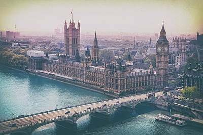 Photograph - Skyline From The London Eye by Alfio Finocchiaro