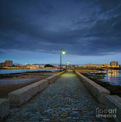 Photograph - Skyline From The Walkway Cadiz Spain by Pablo Avanzini