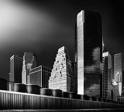 Nyc Skyline Photograph - Skyline by Hans Bauer