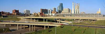 Convention Centers Photograph - Skyline, Kansas City, Missouri by Panoramic Images