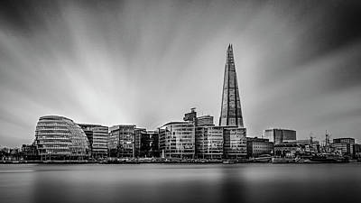 Photograph - Skyline - London by Kelvin Trundle