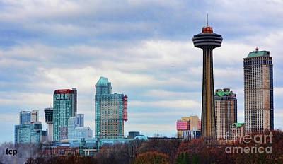 Photograph - Skyline Niagara by Traci Cottingham
