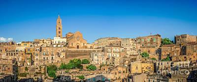 Basilicata Photograph - Skyline Of Matera by JR Photography
