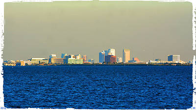 Photograph - Skyline Of Tampa Bay Florida by Lisa Wooten