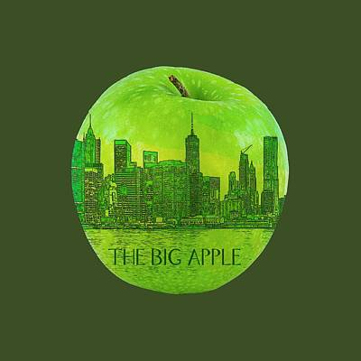 Digital Art - Skyline Of The Big Apple, New York City, United States by Anthony Murphy