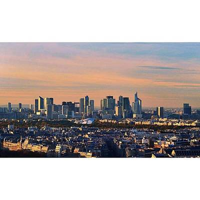 Paris Skyline Photograph - Skyline  #paris #skyline #france by Andrea Tartaglino