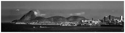 Photograph - Skyline-rio De Janeiro-aeroporto by Carlos Mac