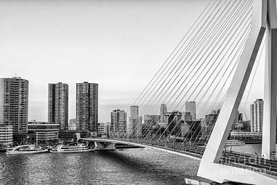Photograph - Skyline Rotterdam by Patricia Hofmeester