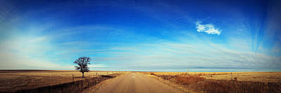 Kansas Artist Photograph - Skyline by Thomas Zimmerman