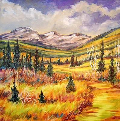 Painting - Skyline Trail   by Nancy Day