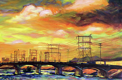 Painting - Skylines by Bonnie Lambert