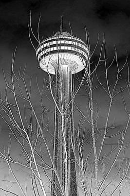 Photograph - Skylon Tower by Valentino Visentini