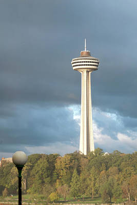 Photograph - Skylon Tower View From Us by Michelle McPhillips