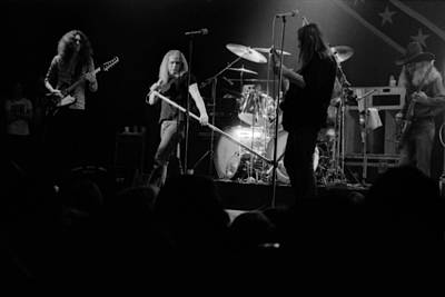 Photograph - Skynyrd Sf 1975 #10 Crop 2 by Ben Upham