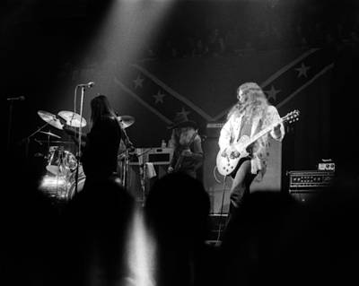 Photograph - Skynyrd Sf 1975 #11 by Ben Upham