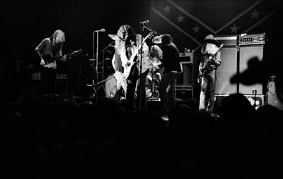 Photograph - Skynyrd Sf 1975 #2 by Ben Upham