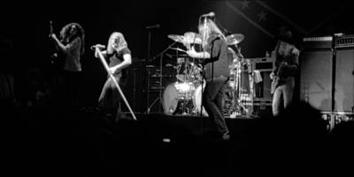 Photograph - Skynyrd Sf 1975 #20 by Ben Upham
