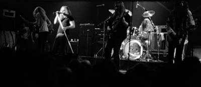 Photograph - Skynyrd Sf 1975 #8 by Ben Upham