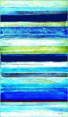 Painting - Skyscape Abstract by VIVA Anderson