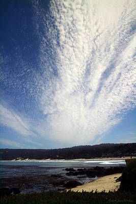 Photograph - Skyscape At Carmel Beach by Joyce Dickens