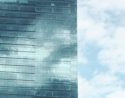 Photograph - Skyscape Midtown Atlanta by Lizi Beard-Ward