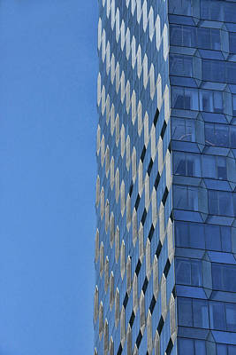 Photograph - Skyscraper Abstract # 12 by Allen Beatty