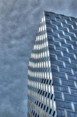 Photograph - Skyscraper Abstract 16 by Allen Beatty