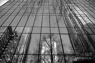 Photograph - Skyscraper In Black And White by Shelia Kempf