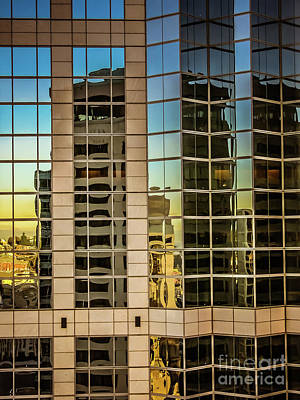 Photograph - Skyscraper Reflections by Blake Webster