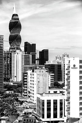 Photograph - Skyscrapers In Panama by John Rizzuto