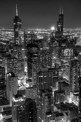 Photograph - Skyscrapers Of Chicago by Daniel Hagerman