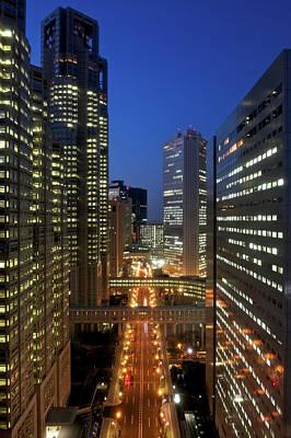 Shinjuku Photograph - Skyscrapers Of Shinjuku, Tokyo by Vladimir Zakharov