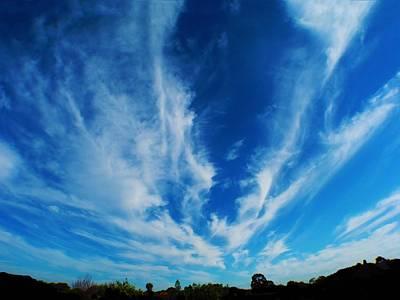 Photograph - Sky Splash by Mark Blauhoefer