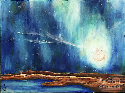 Painting - Sky_study by Amy Williams