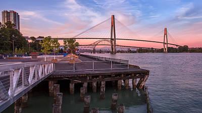 City Photograph - Skytrain Bridge by Alan W
