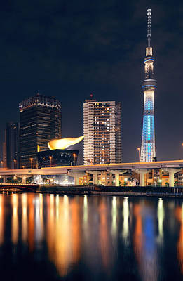 Photograph - Skytree by Songquan Deng