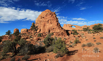 Photograph - Skyview Arch  by Mary Haber