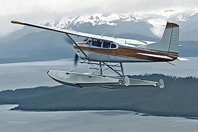 Digital Art - Skywagon by Rick Blyseth