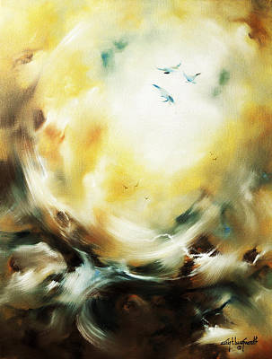 Painting - Skyward by Craig T Burgwardt