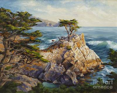 Carmel By The Sea Painting - Skyward by Shelley Cost